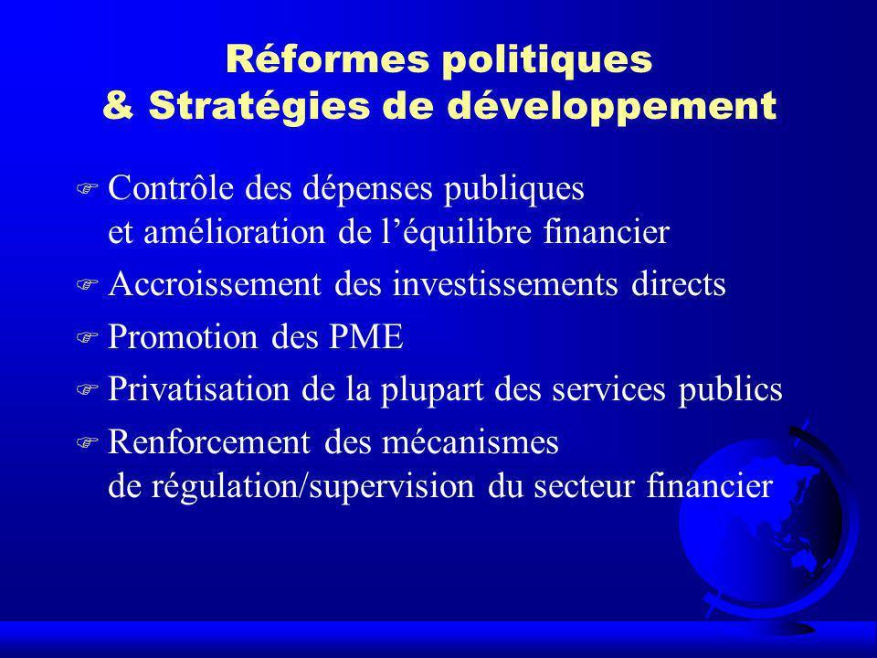 Réformes politiques & Stratégies de développement