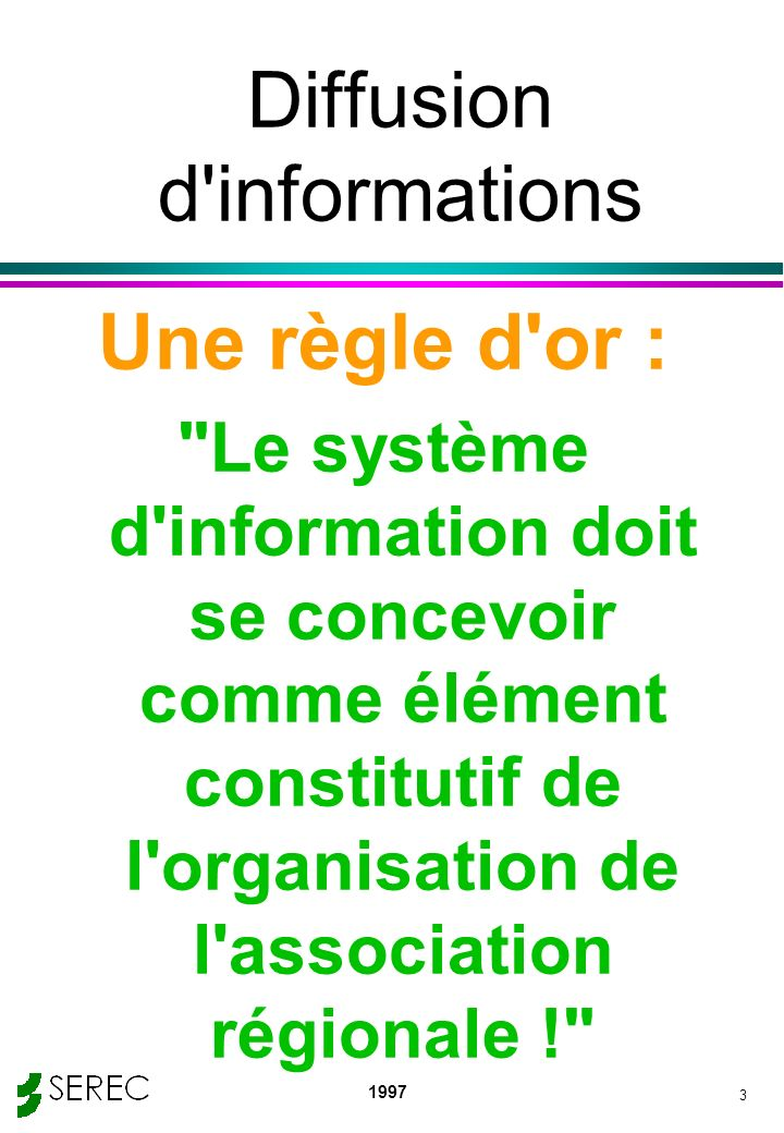 Diffusion d informations