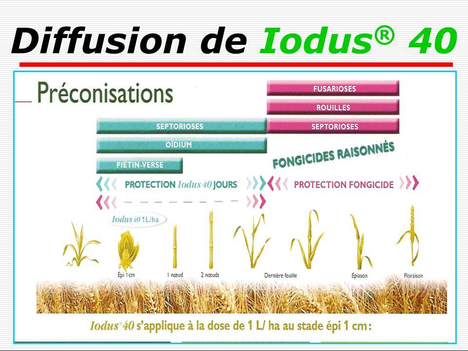 Diffusion de Iodus® 40