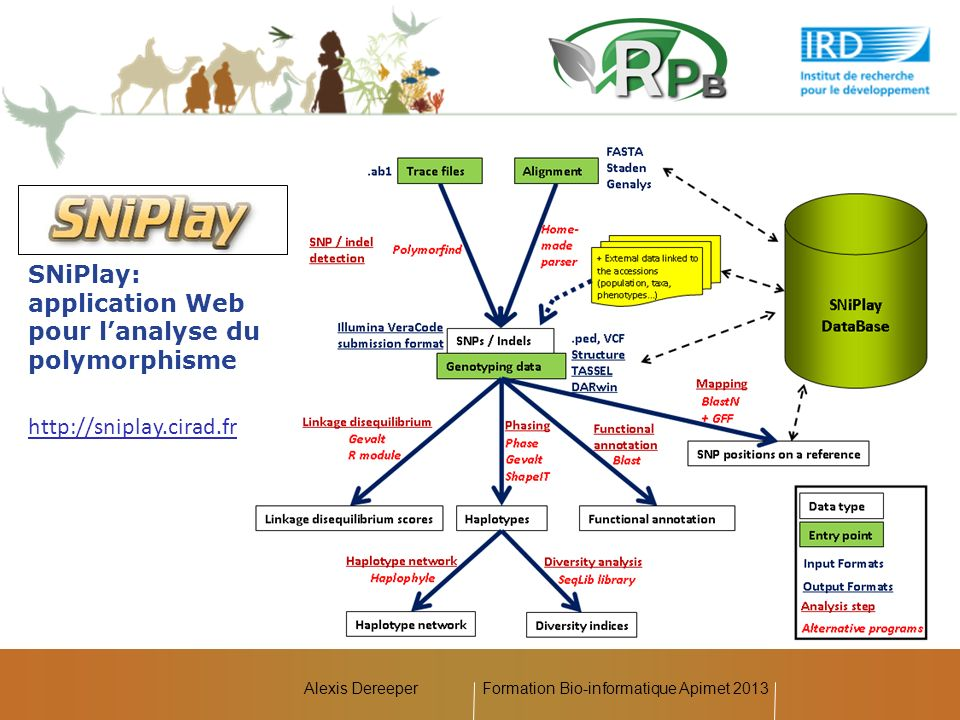 Formation Bio-informatique Apimet 2013