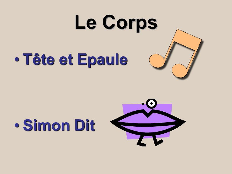 Le Corps Tête et Epaule Simon Dit
