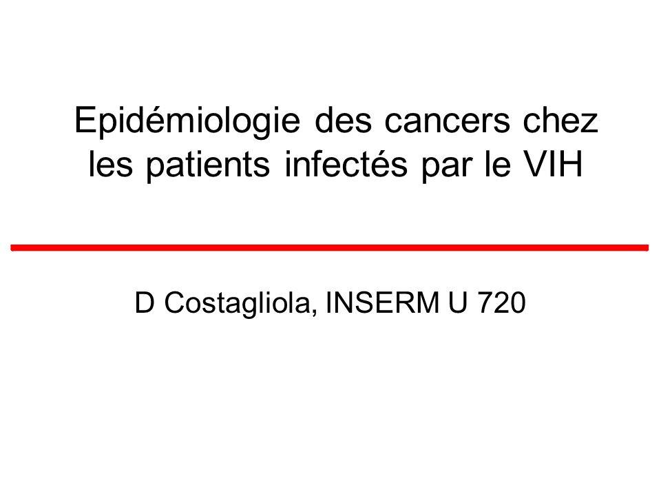 Epidémiologie des cancers chez les patients infectés par le VIH