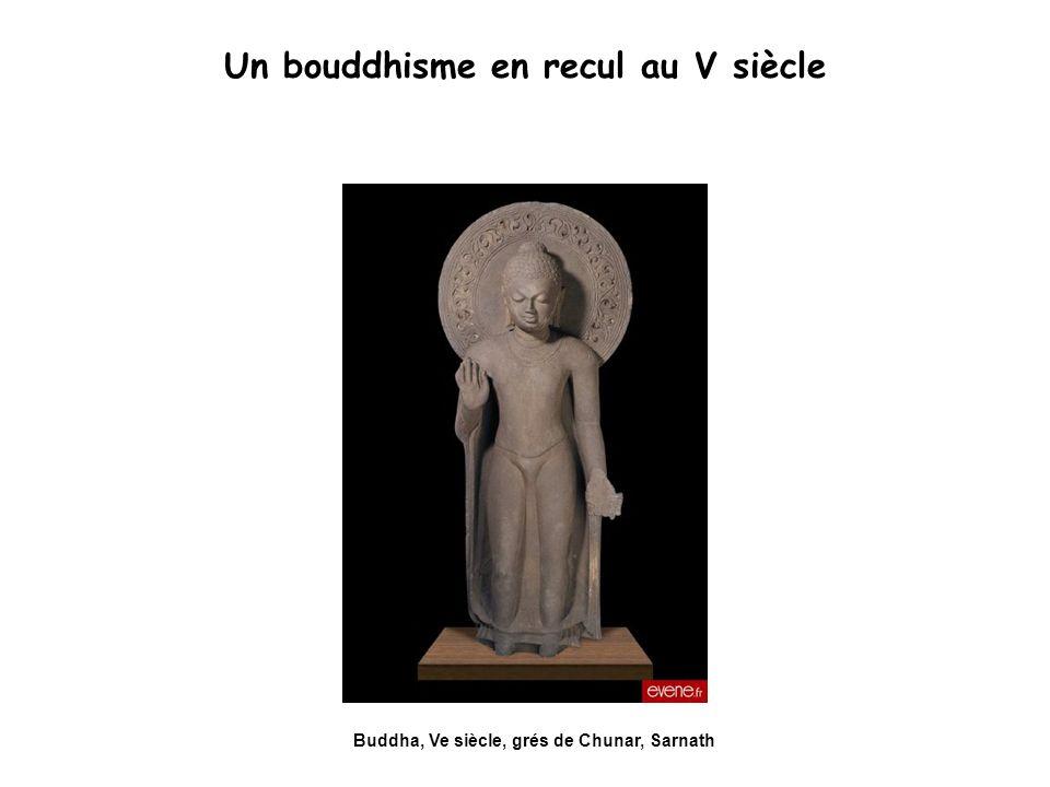 Un bouddhisme en recul au V siècle