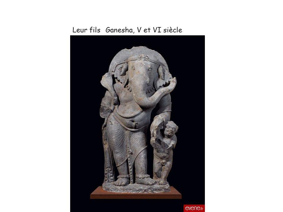 Leur fils Ganesha, V et VI siècle
