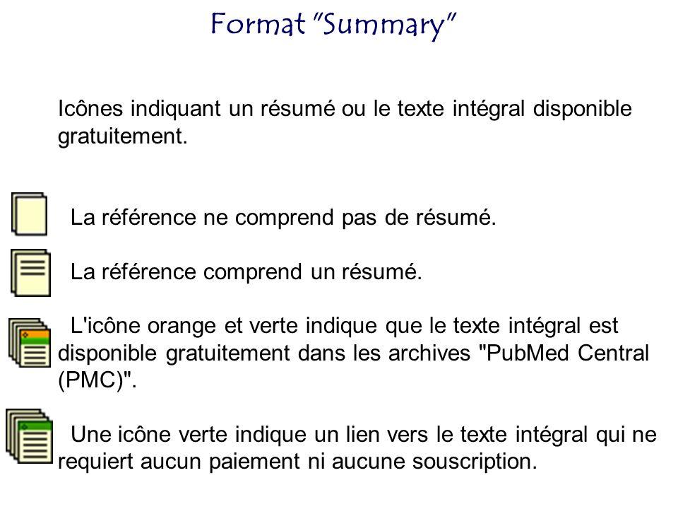 Format Summary