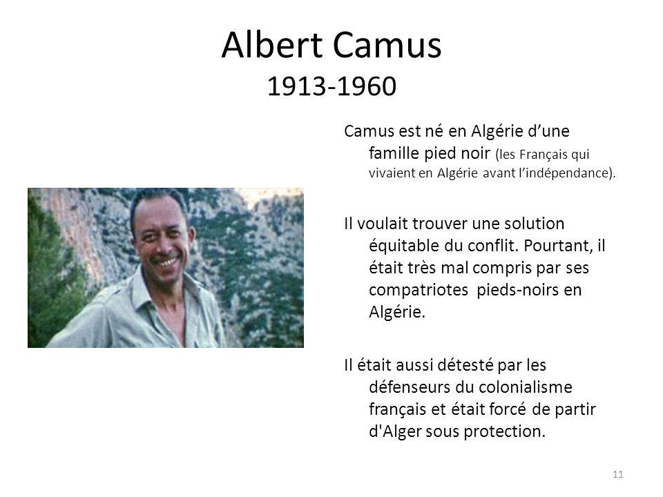 Albert Camus 1913-1960