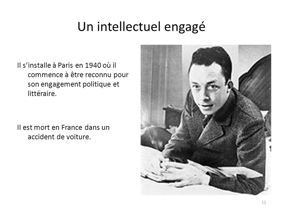 Un intellectuel engagé