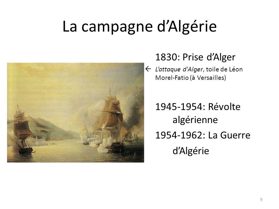 La campagne d'Algérie 1830: Prise d'Alger