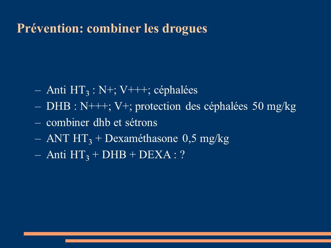 Prévention: combiner les drogues