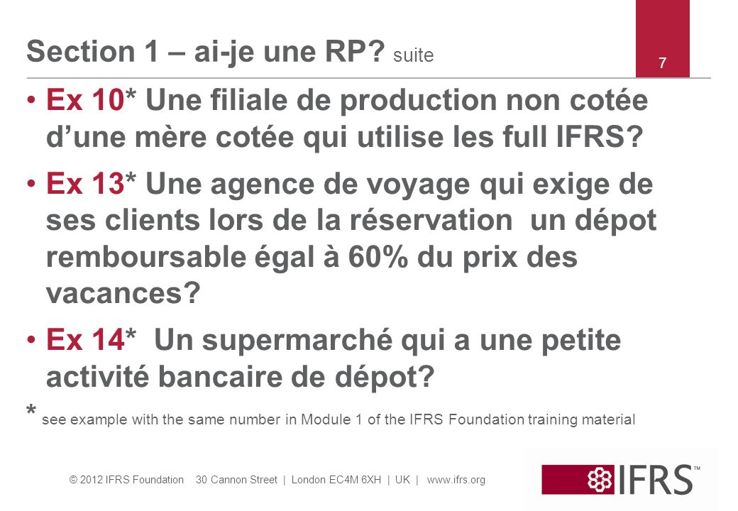 Section 1 – ai-je une RP suite