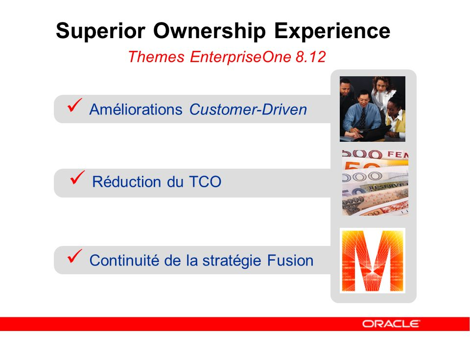 Superior Ownership Experience Themes EnterpriseOne 8.12