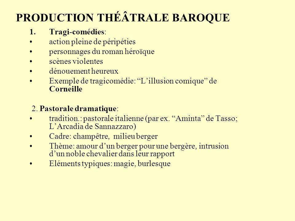 PRODUCTION THÉÂTRALE BAROQUE