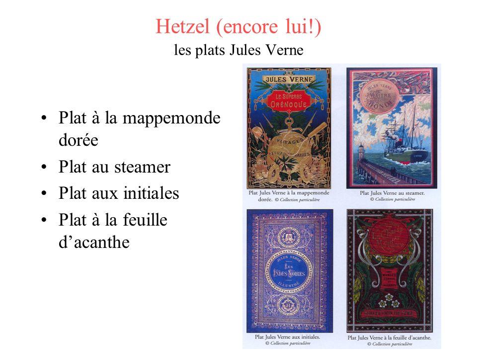 Hetzel (encore lui!) les plats Jules Verne