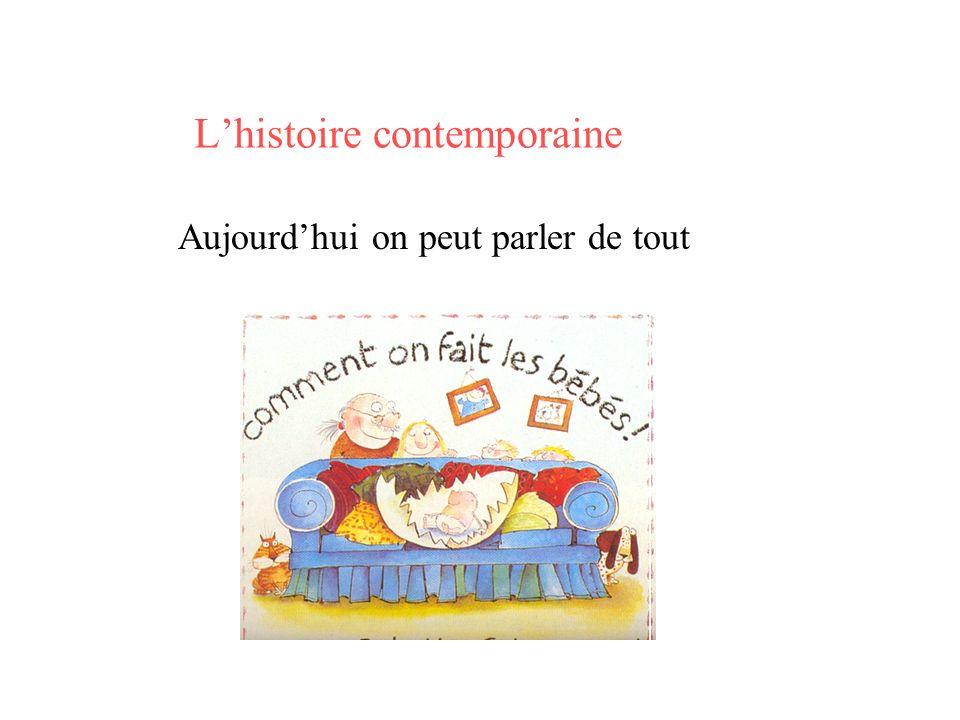 L'histoire contemporaine