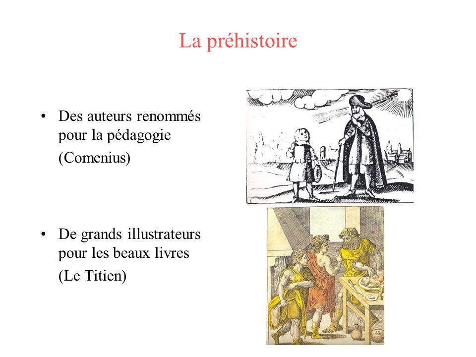 La préhistoire Des auteurs renommés pour la pédagogie (Comenius)