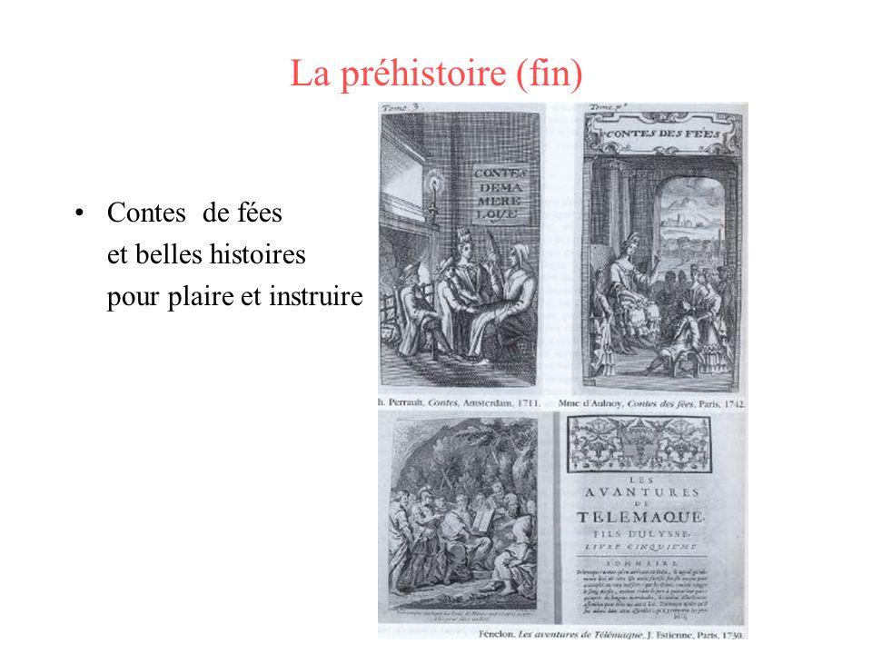 La préhistoire (fin) Contes de fées et belles histoires