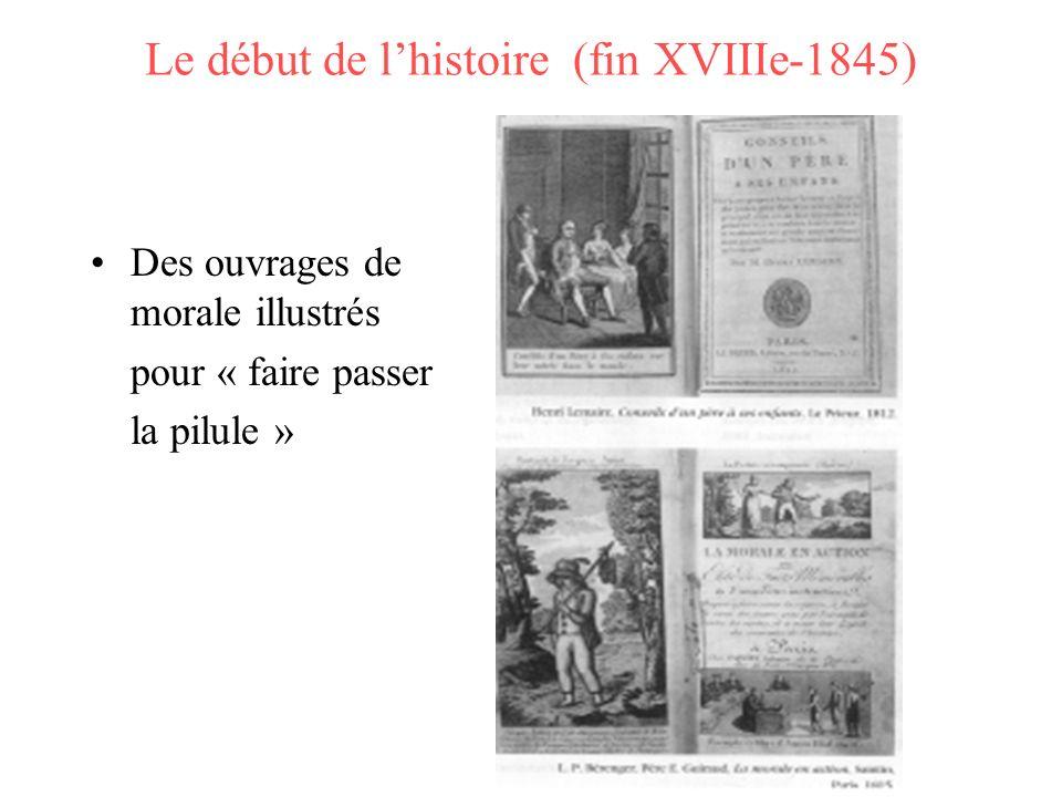 Le début de l'histoire (fin XVIIIe-1845)
