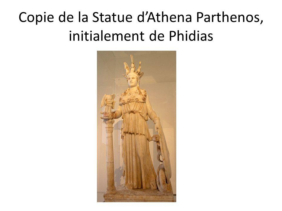 Copie de la Statue d'Athena Parthenos, initialement de Phidias