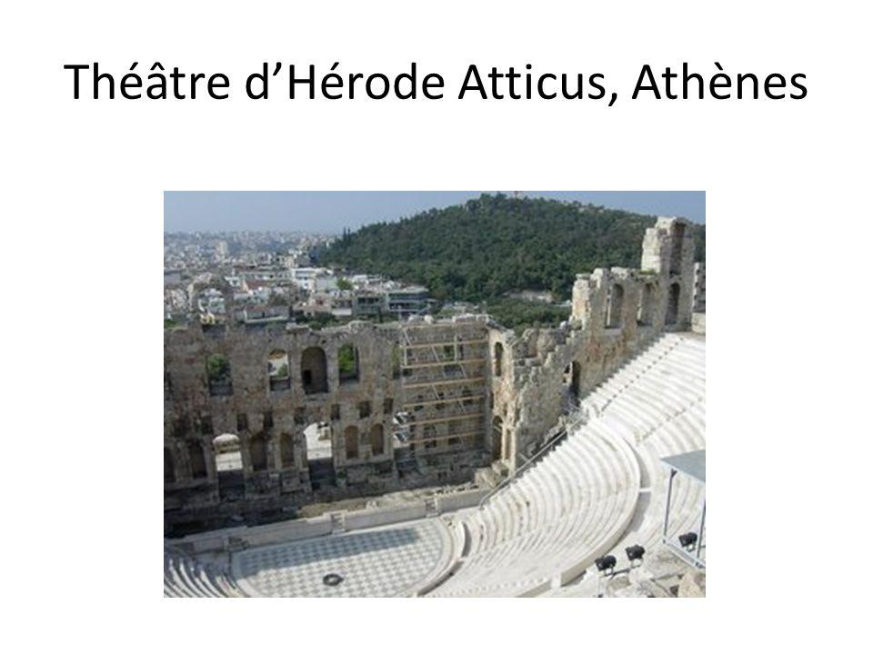 Théâtre d'Hérode Atticus, Athènes