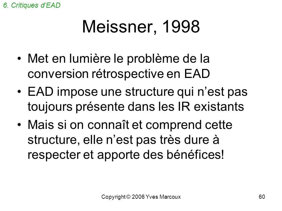 Copyright © 2006 Yves Marcoux