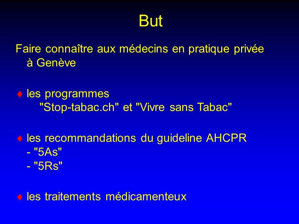 But Faire connaître aux médecins en pratique privée à Genève
