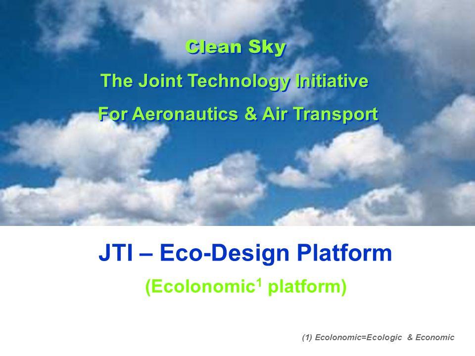 JTI – Eco-Design Platform (Ecolonomic1 platform)