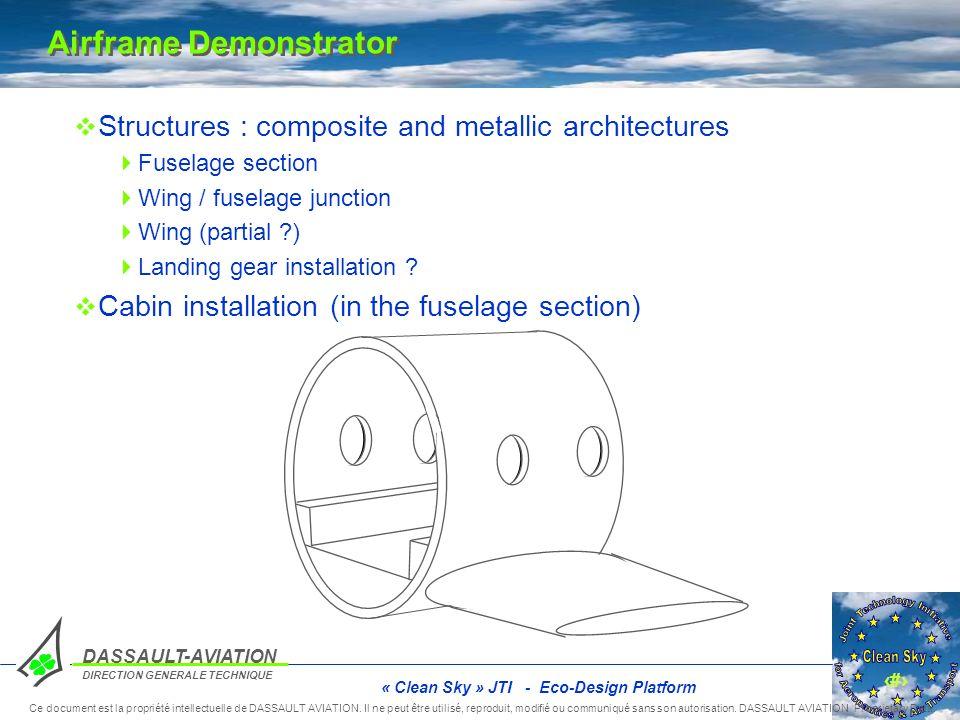 Airframe Demonstrator