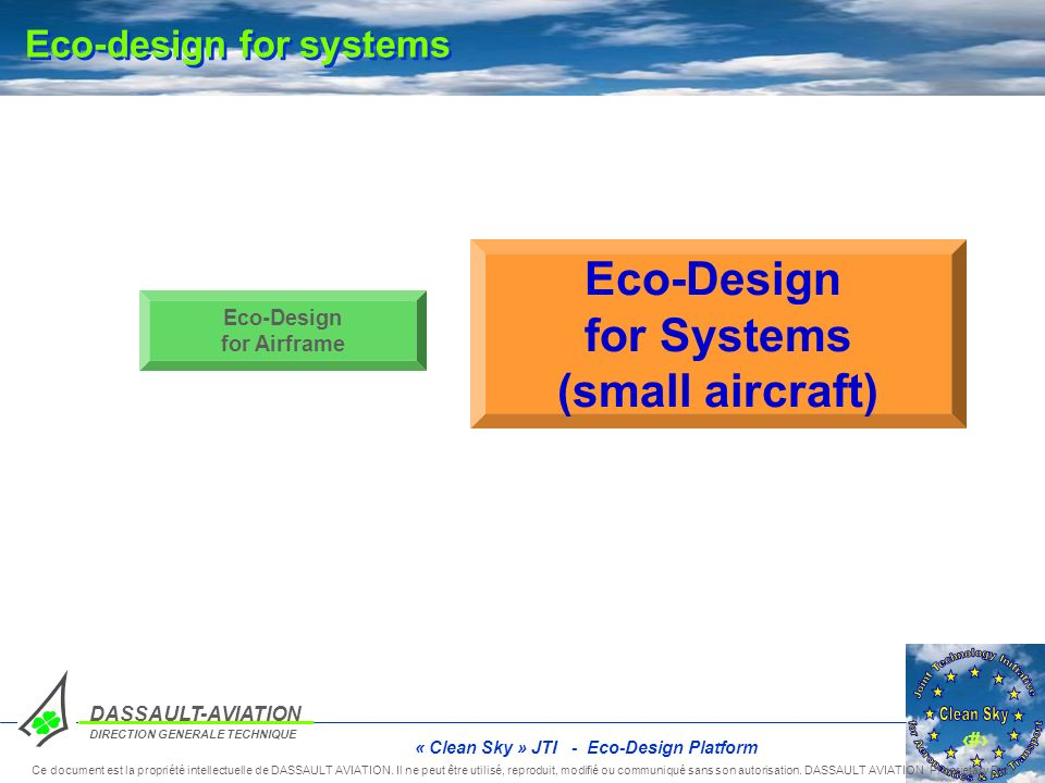 Eco-design for systems