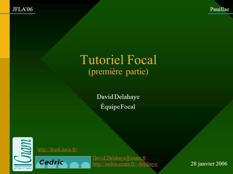 Tutoriel Focal (première partie)