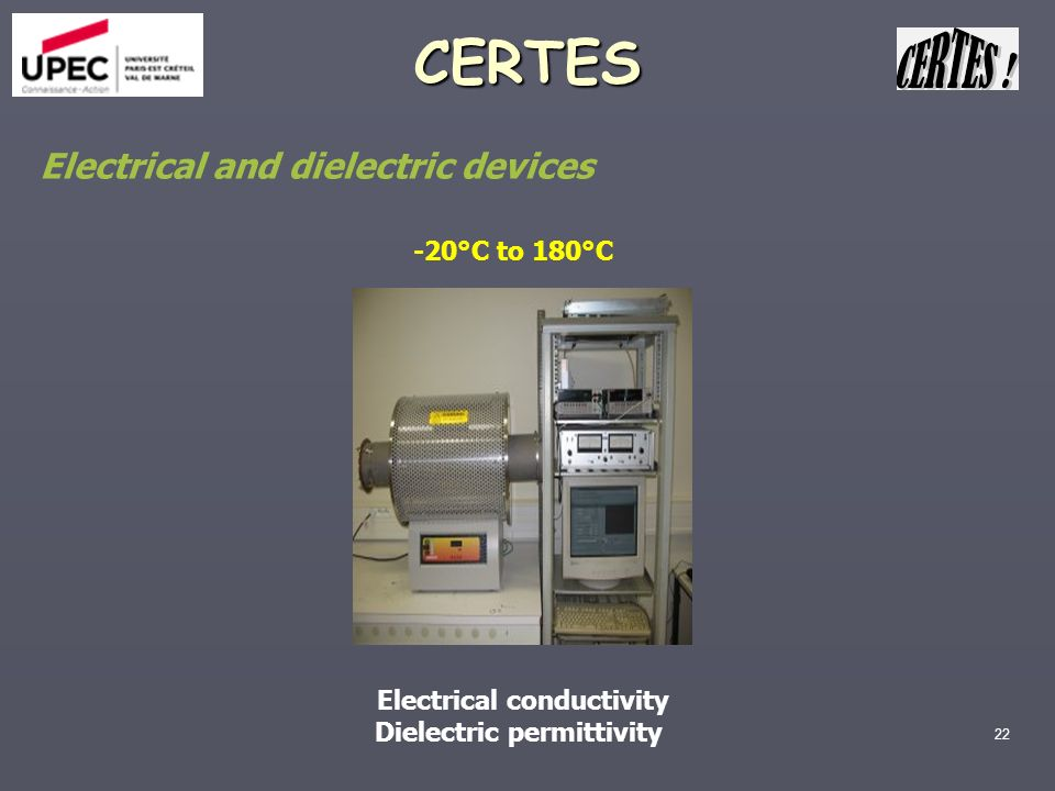 Electrical conductivity Dielectric permittivity