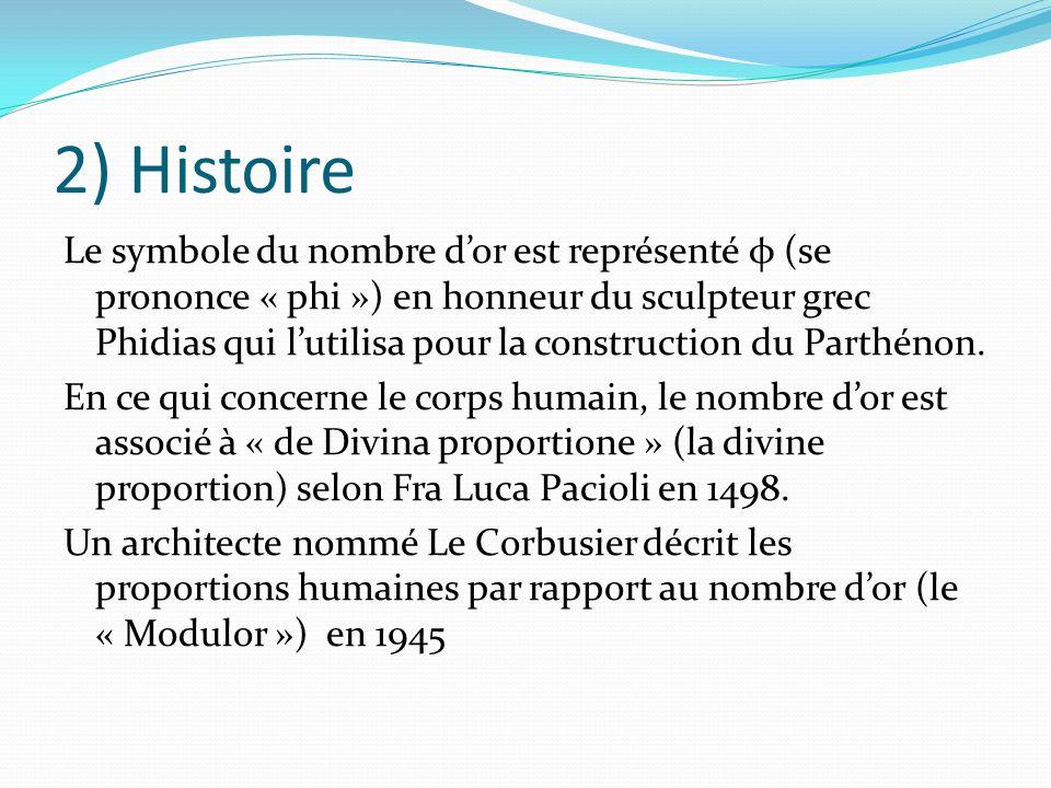 2) Histoire