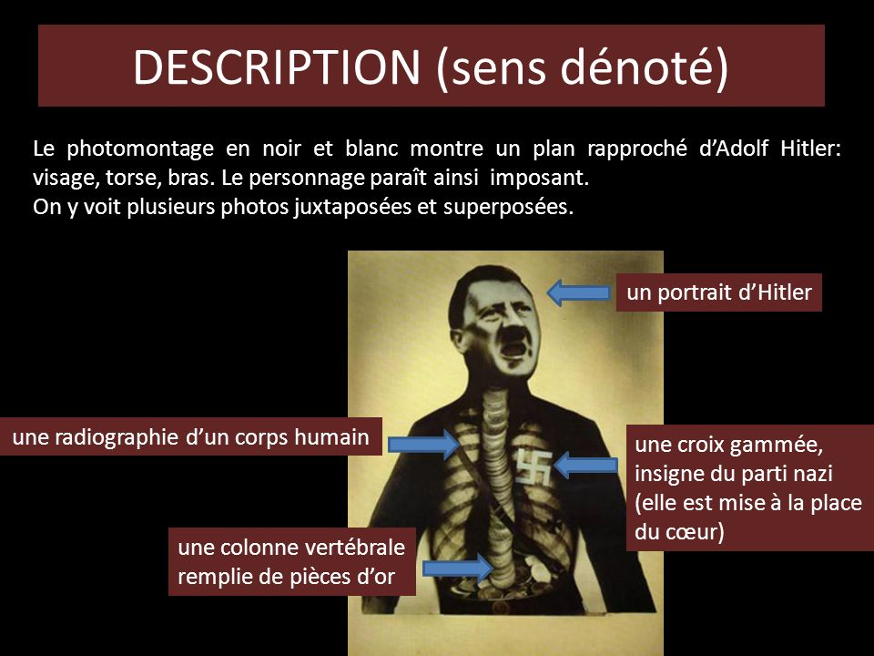 DESCRIPTION (sens dénoté)