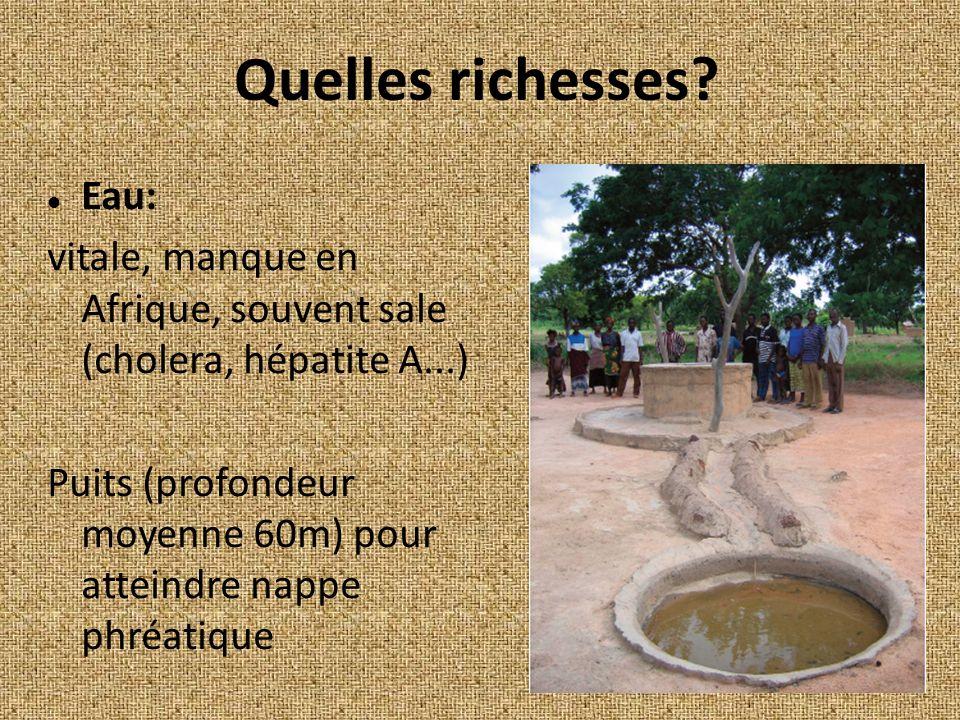 Quelles richesses Eau: