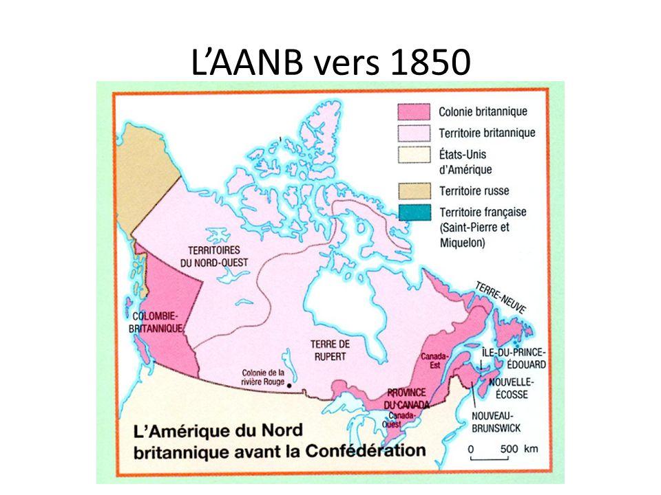 L'AANB vers 1850