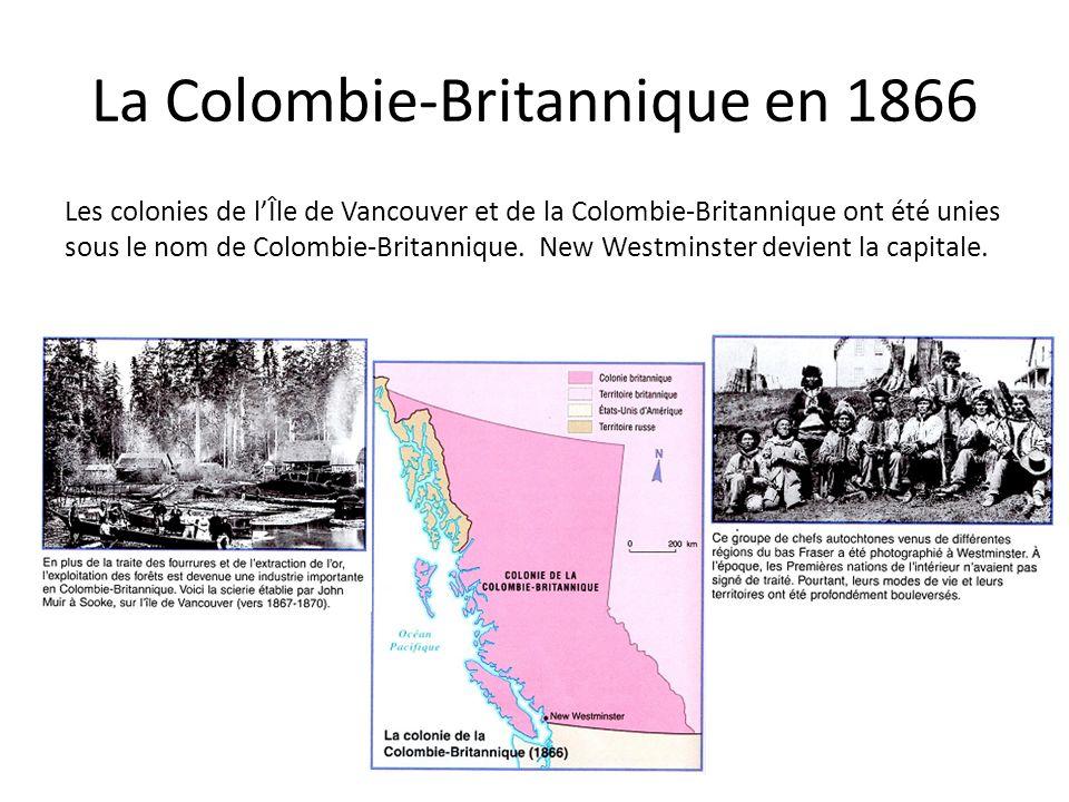La Colombie-Britannique en 1866