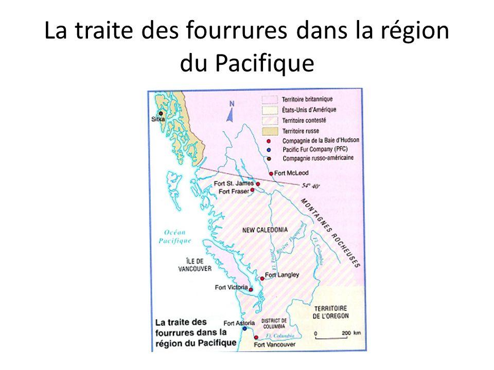 La traite des fourrures dans la région du Pacifique