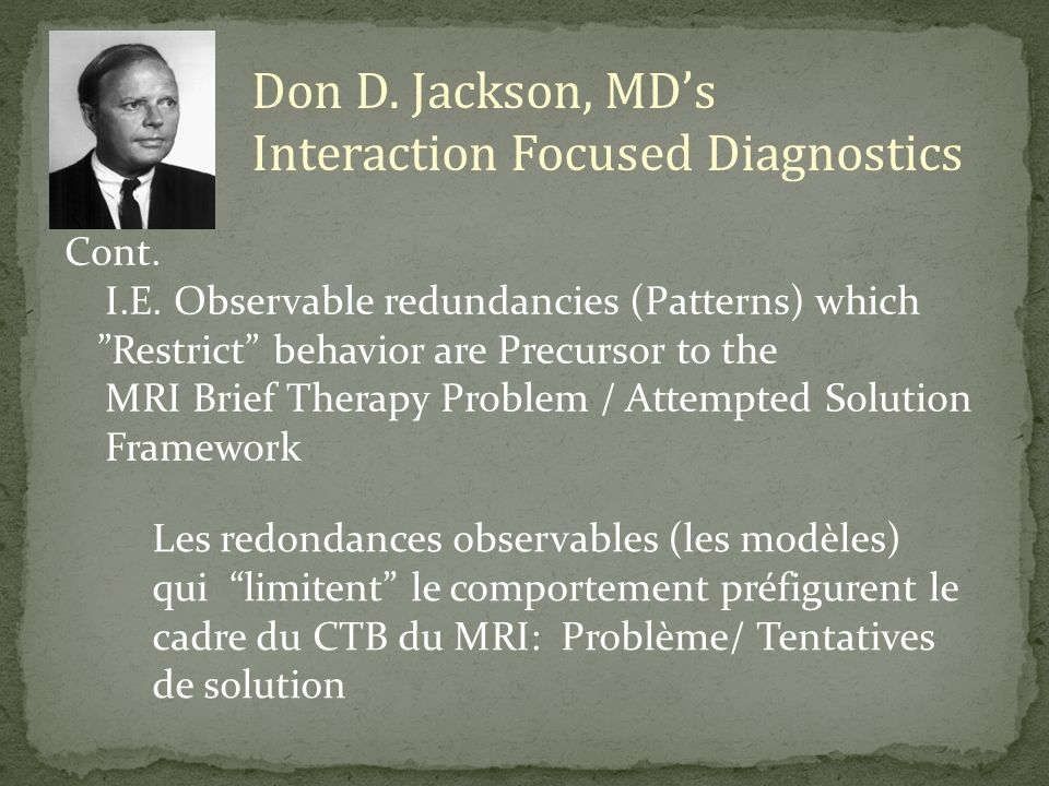 Interaction Focused Diagnostics