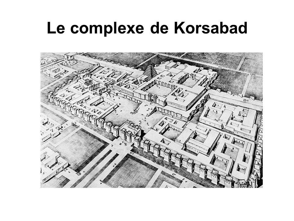 Le complexe de Korsabad