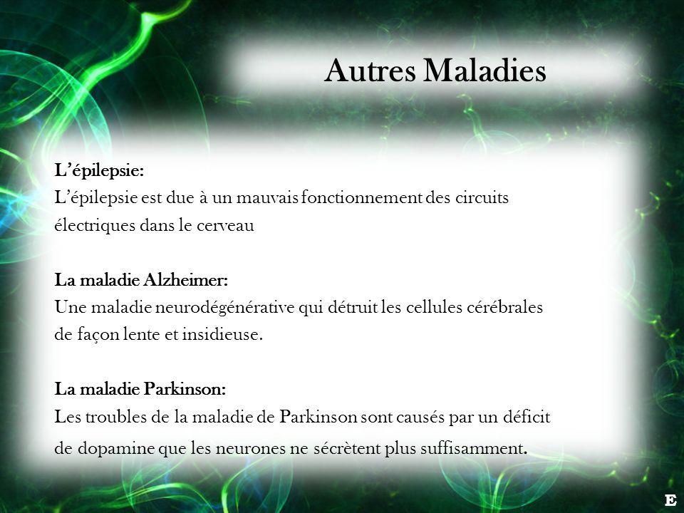 Autres Maladies L'épilepsie: