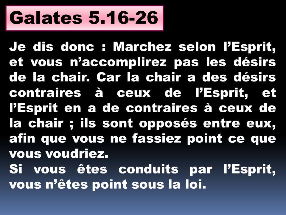 Galates 5.16-26