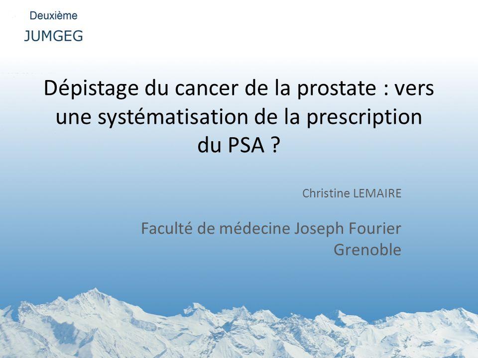 Christine LEMAIRE Faculté de médecine Joseph Fourier Grenoble