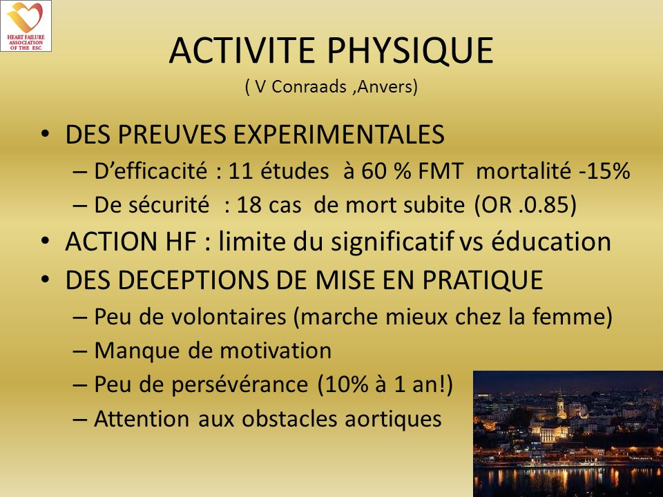 ACTIVITE PHYSIQUE ( V Conraads ,Anvers)