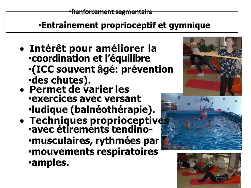 Intérêt pour améliorer la coordination et l'équilibre