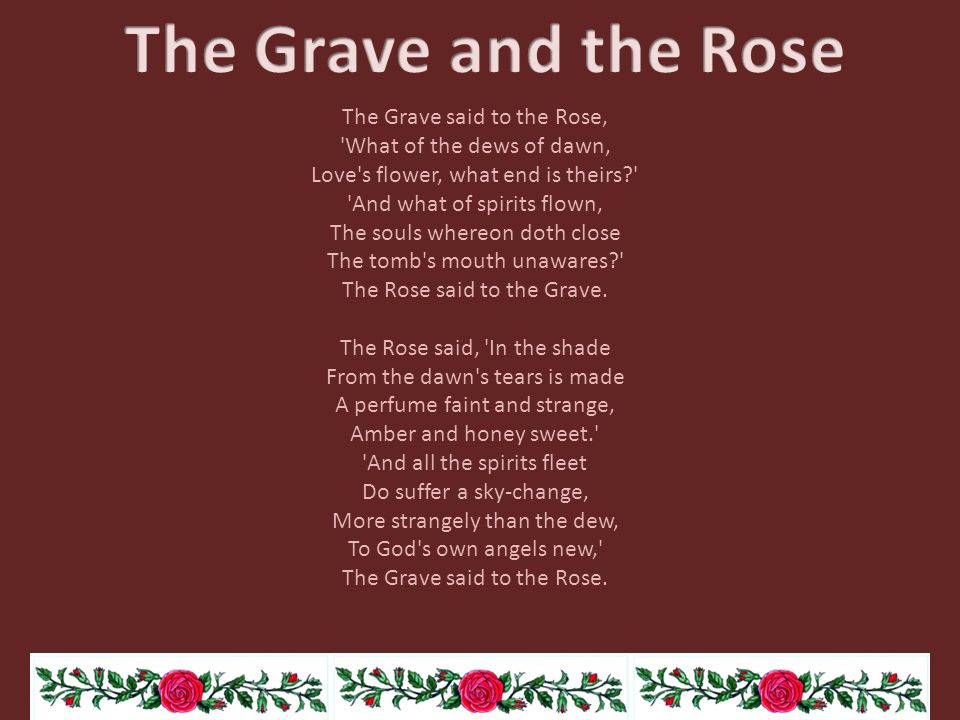 The Grave and the Rose