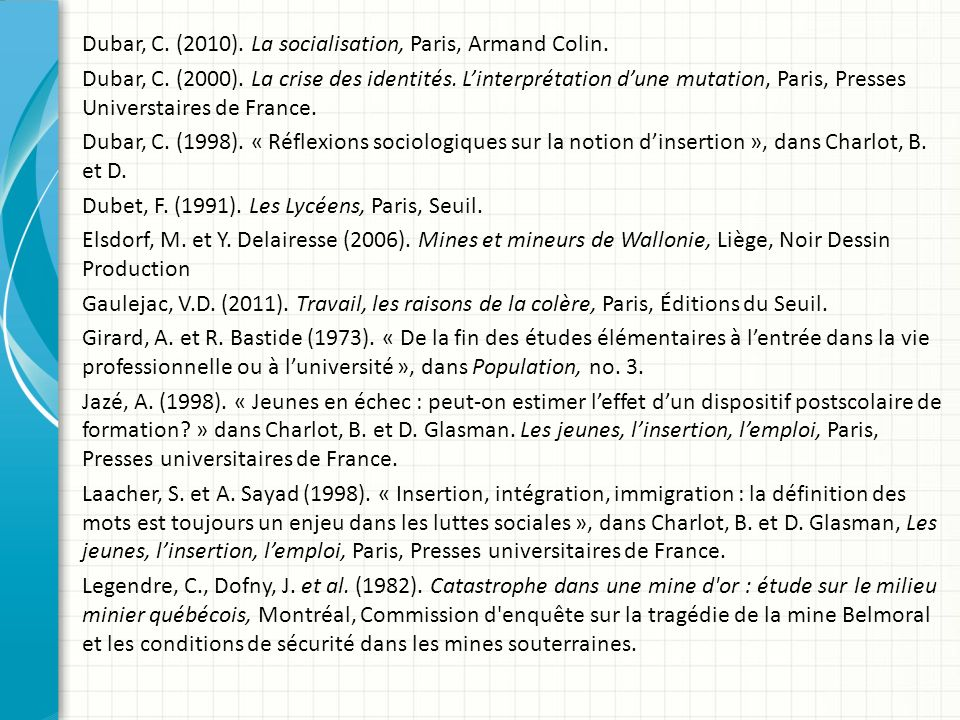 Des clefs conceptuelles pour appuyer l insertion des - Office francais de l immigration et de l integration paris ...