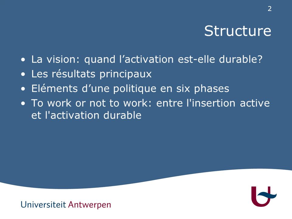 Quatre perspectives sur l'activation