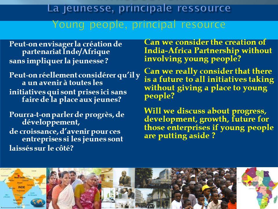 INTRODUCTION La jeunesse, principale ressource