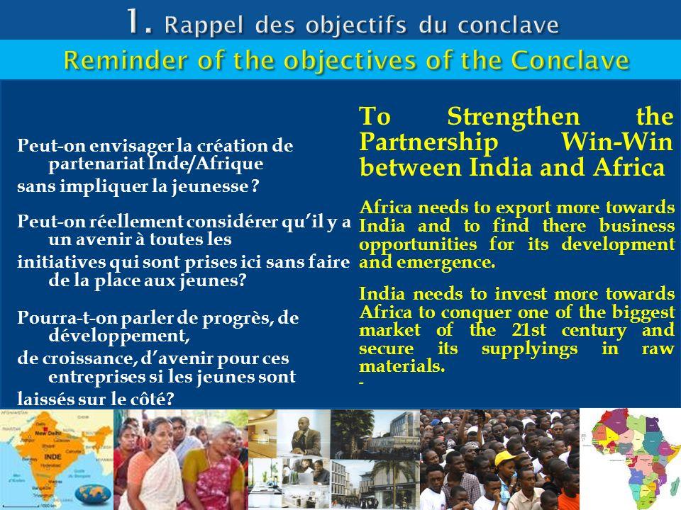 1. Rappel des objectifs du conclave
