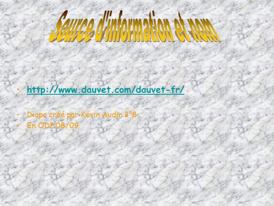 Source d information et nom