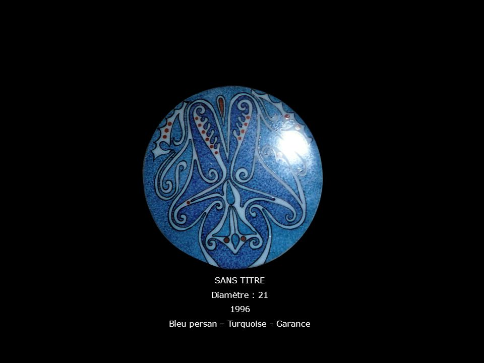Bleu persan – Turquoise - Garance